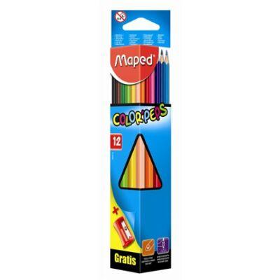Maped Color Peps színes ceruza készlet hegyezővel