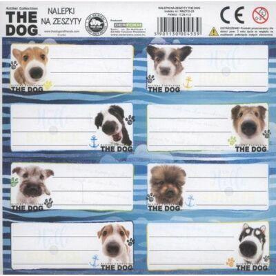 The Dog kutyás etikett füzetcímke