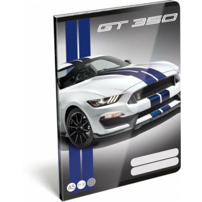 Ford Mustang kockás füzet