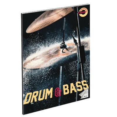 """Hangjegyfüzet A4 - """"86-32"""" - Drum and Bass"""
