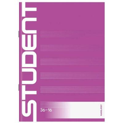 "Student hangjegyfüzet A5 - ICO ""36-32"""