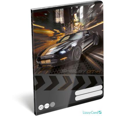 Ford Mustang kockás A5 füzet 27-32 - Shelby GT-H