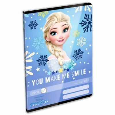 Jégvarázs leckefüzet Frozen Smile