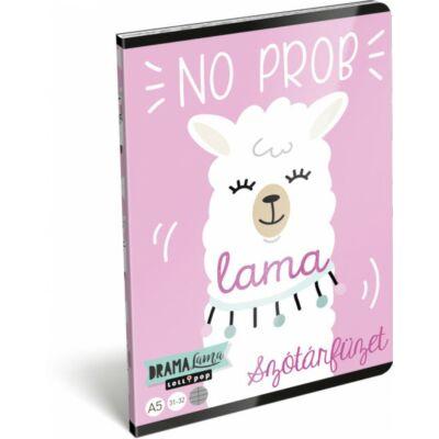 Lollipop Drama Lama szótár füzet