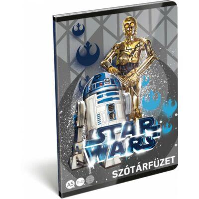 Star Wars Droids szótár füzet A5