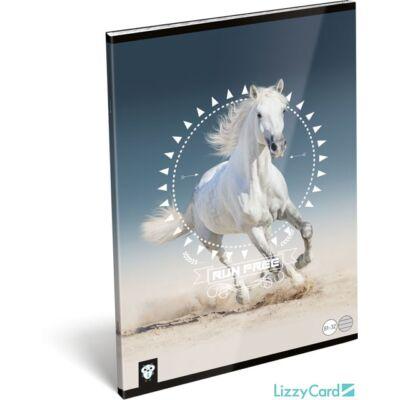 Lovas vonalas füzet - A4 - 81-32 - Kis Bagoly Horse