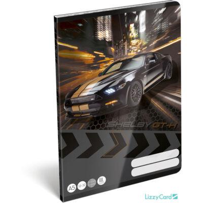 Ford Mustang vonalas füzet - Shelby GT-H - A5 - 3. osztályos / 12-32