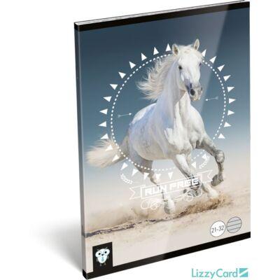 Lovas vonalas A5 füzet 21-32 - Kis Bagoly Horse