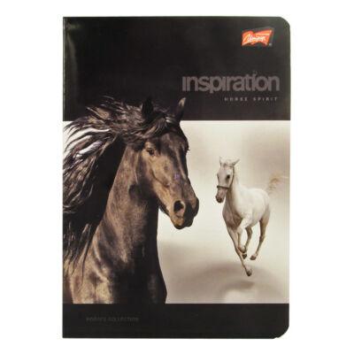 Lovas 2. osztályos vonalas füzet Inspiration Horse Spirit
