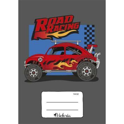 Victoria Road Racing 1. osztályos vonalas füzet