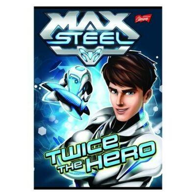 Max Steel 3. osztályos vonalas füzet
