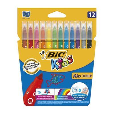 Filctoll készlet - BIC Kids - 12 szín