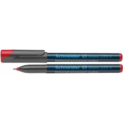 Alkoholos marker Schneider Maxx 220 S - 0,4 mm - piros alkoholos filctoll