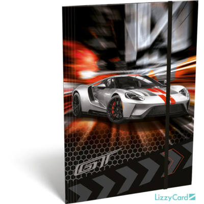 Ford GT A4 gumis mappa - Silver