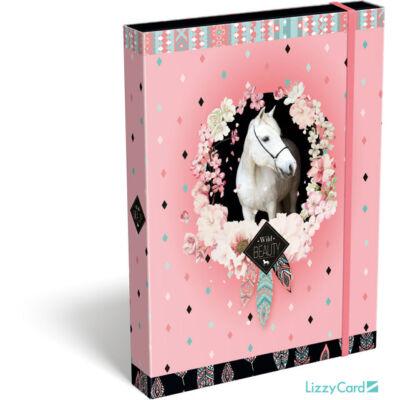 Lovas A5 füzetbox - Wild beauty Rose