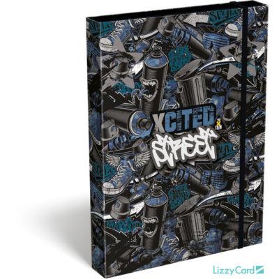 X-cited A4 füzetbox - Street