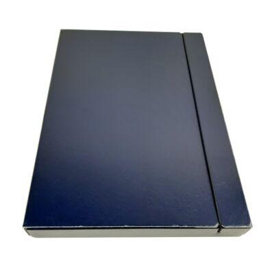 Fortuna A4 gumis mappa 30 mm - kék