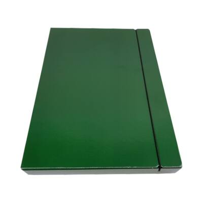 Fortuna A4 gumis mappa 30 mm - zöld
