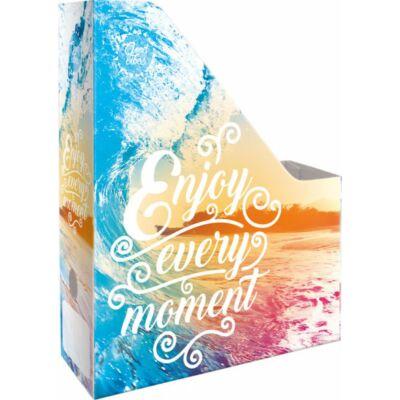 Enjoy Every Moment irattartó papucs A4