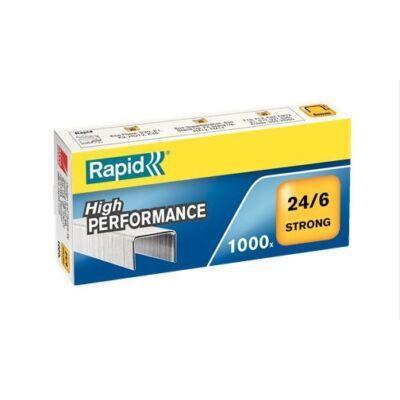 Tűzőkapocs 24/6 - Rapid Strong - 1000 db
