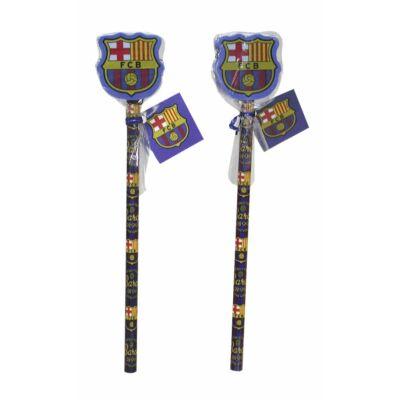 Barcelona ceruza radírral