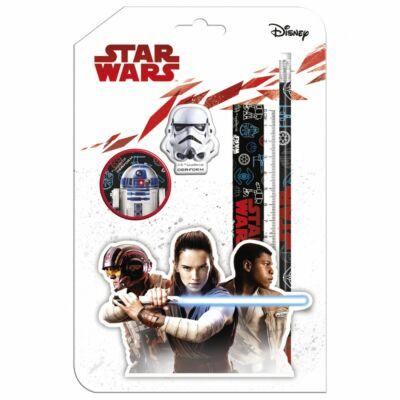 Star Wars írószer készlet 4 részes suliszett - SW18