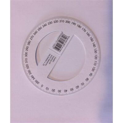 Szögmérő papír 360°
