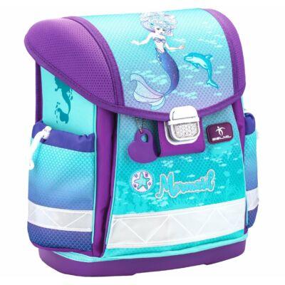 Belmil Classy merevfalú iskolatáska Purple Mermaid sellő