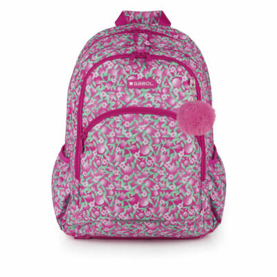 Gabol Cherry ergonómikus kialakítású hátizsák iskolatáska - 21 literes