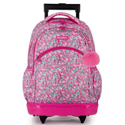 Gabol Cherry ergonómikus gurulós iskolatáska hátizsák
