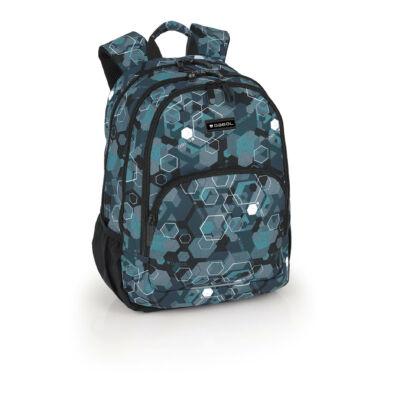 Gabol Stereo ergonómikus kialakítású hátizsák, iskolatáska - 21 literes