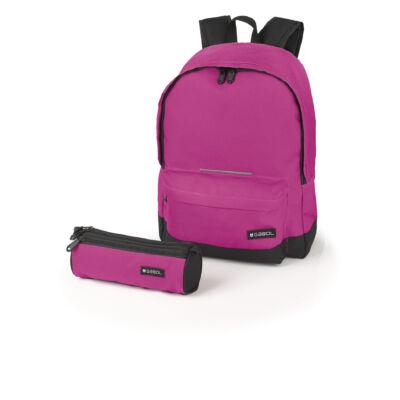 Gabol Max 18 literes hátizsák ajándék tolltartóval - pink