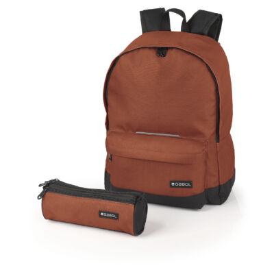 Gabol Max 18 literes hátizsák ajándék tolltartóval - barna