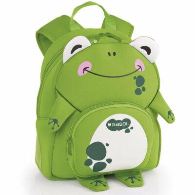 Gabol Infant Zoo Frog ovis táska, kirándulós hátizsák - béka