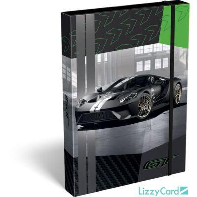 Ford GT A4 füzetbox - Sportautó 2020 zöld
