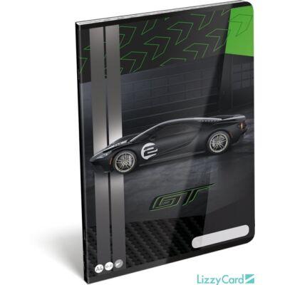 Ford GT sima füzet A4 2020 zöld