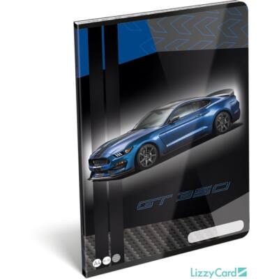 Ford Mustang vonalas füzet A4 2020