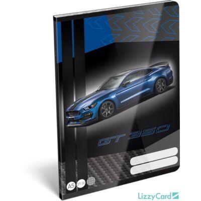 Ford Mustang kockás füzet 2020
