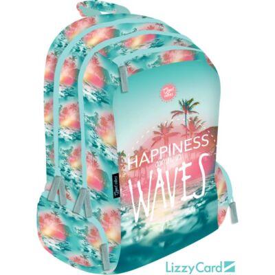 Good Vibes Wave Teen+ hátizsák iskolatáska