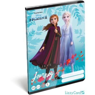 Jégvarázsos vonalas füzet 2. osztály Frozen II