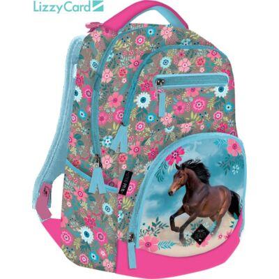 Lovas Active+ hátizsák - Wild Beauty Blue iskolatáska