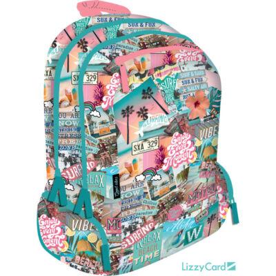 Beach Teen+ hátizsák iskolatáska - Good Vibes Beach