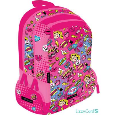POP Teen+ hátizsák iskolatáska - Lollipop Pop