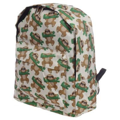 Lajhár divat táska, vagy kirándulós hátizsák