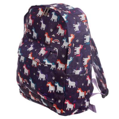 Szivárvány unikornis divat táska, vagy kirándulós hátizsák