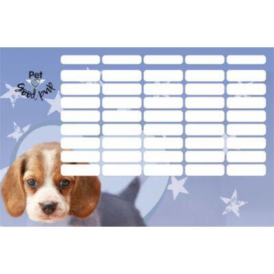 Pet Good Pup kutyás nagy méretű órarend