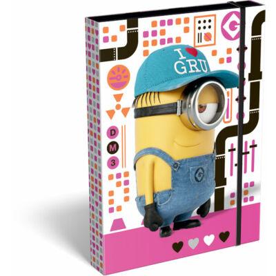 Minion füzetbox A4