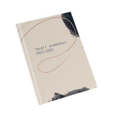 Tanári zsebnaptár tervező 2021/2022-es tanévre A5 papírborító - Realsystem - Art