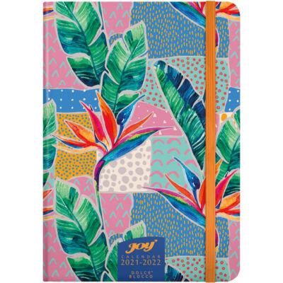 Speciális tervező fiataloknak - 16 hónapos heti tervező naptár B6 - Joy Calendar 2021/2022 - Abstract