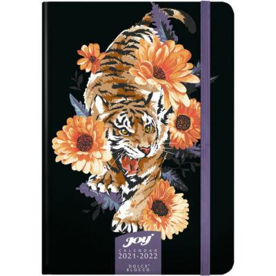 Speciális tervező fiataloknak - 16 hónapos heti naptár A5 2021/22 - Tiger